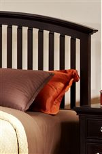 Arched Slat Headboard