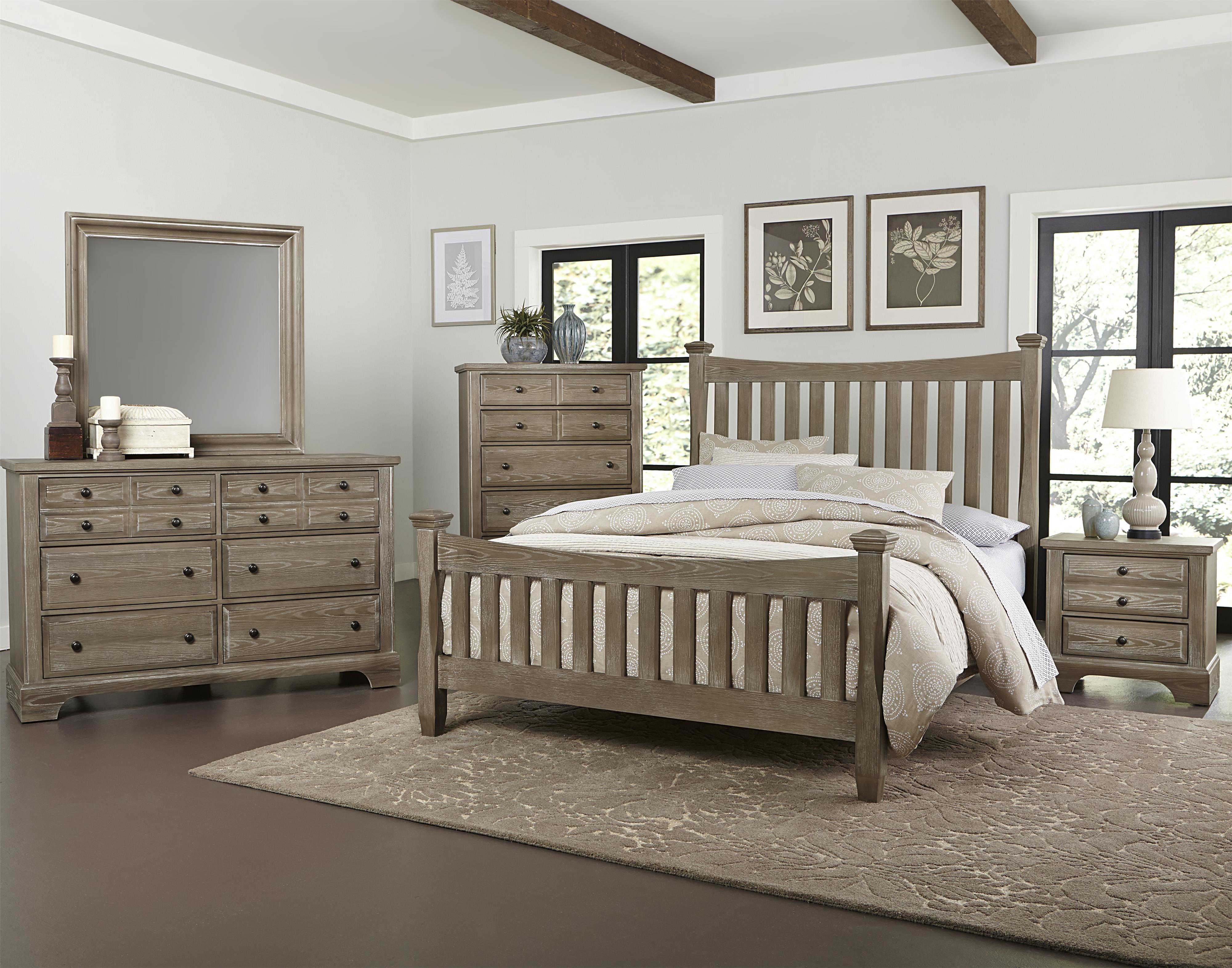 Vaughan Bassett Bedford Queen Bedroom Group - Item Number: BB81 Q Bedroom Group 1