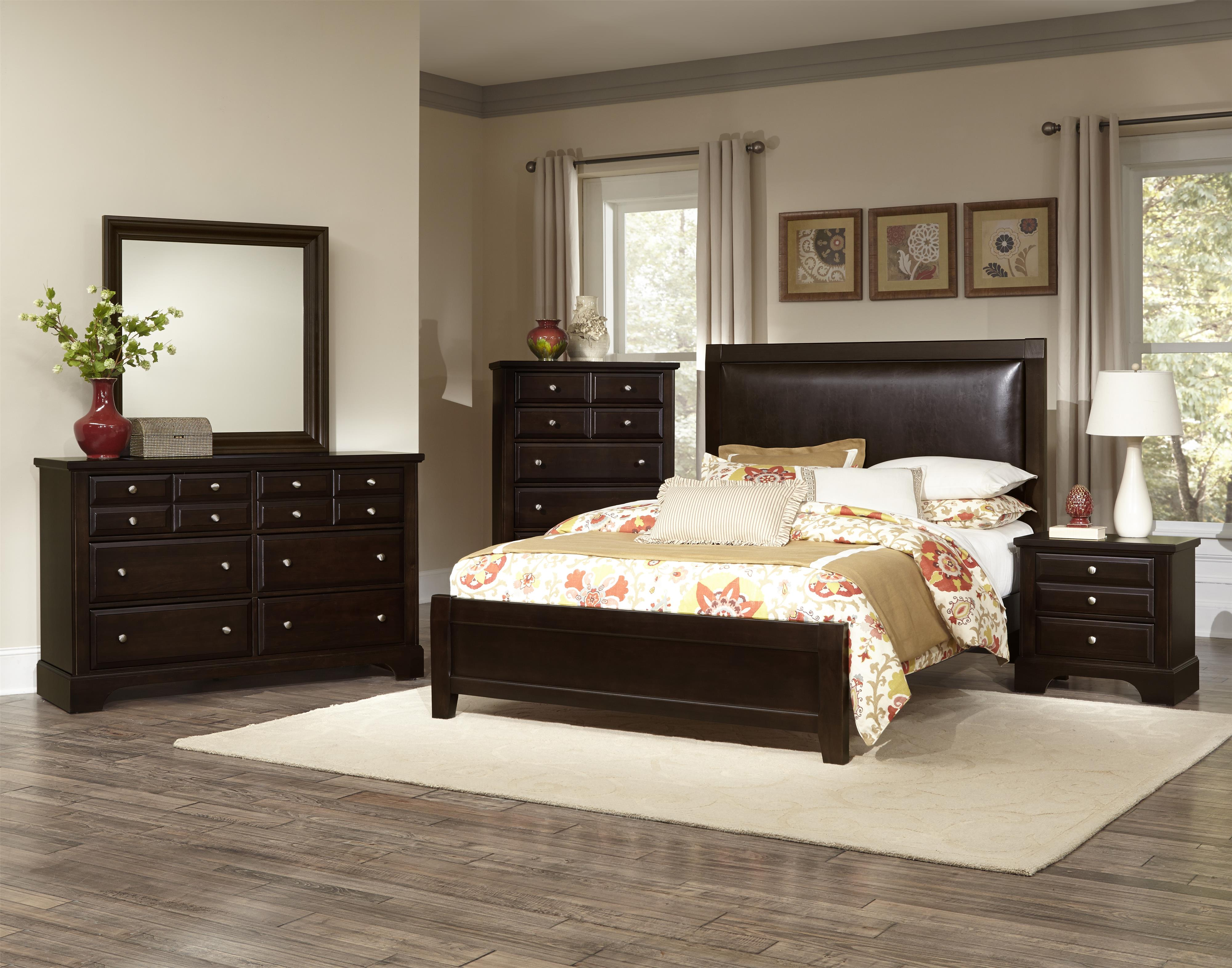 Vaughan Bassett Bedford Queen Bedroom Group - Item Number: BB88 Q Bedroom Group 2