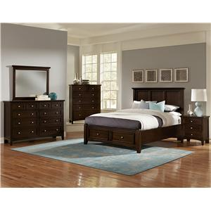 Vaughan Bassett Bonanza Twin Bedroom Group