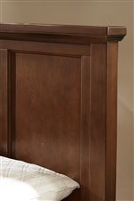 Mansion Headboard with Recessed Panels