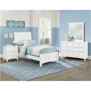 Vaughan Bassett Bonanza Casual Triple Dresser - 8 Drawers