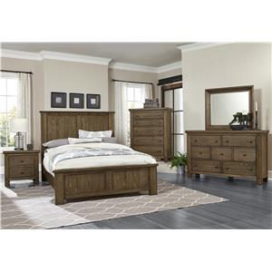 Vaughan Bassett Collaboration Rustic Dresser - 7 Drawers