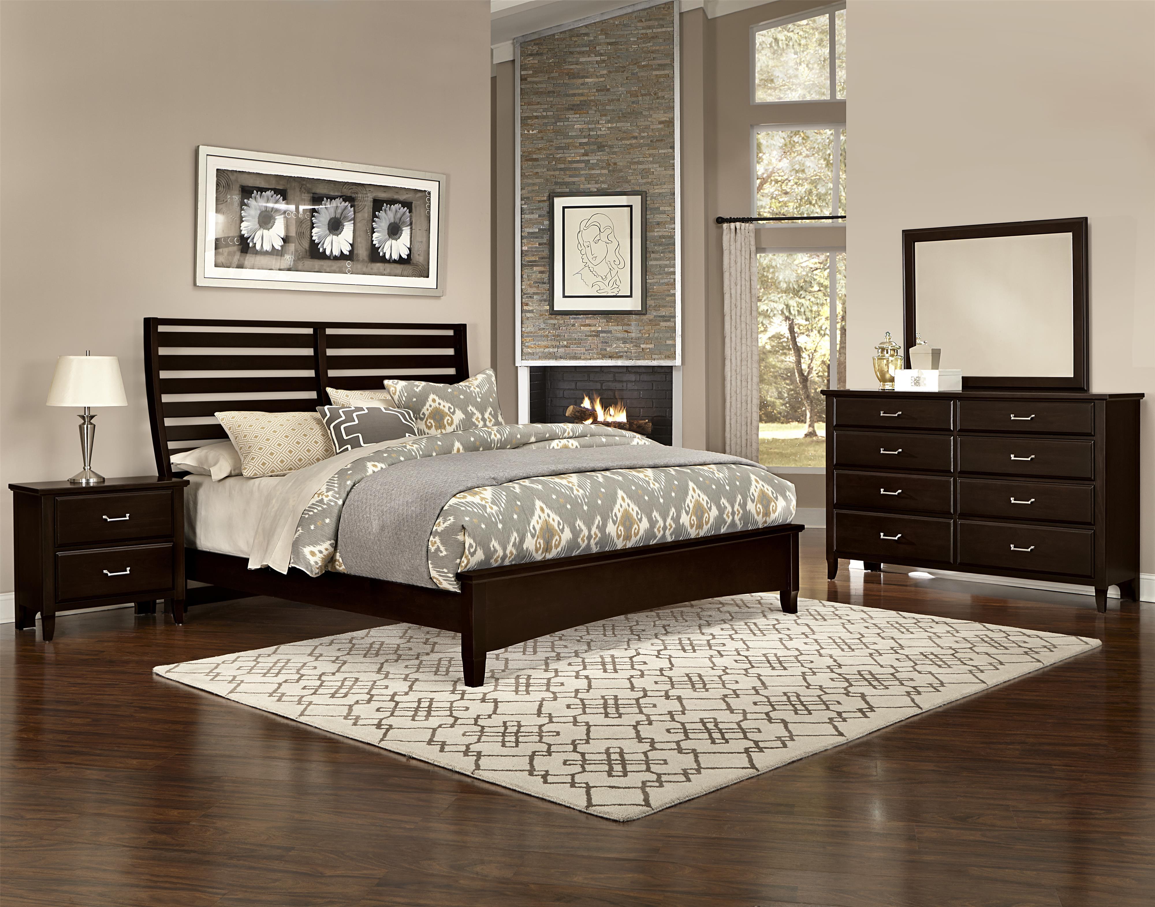 Vaughan Bassett Commentary King Bedroom Group - Item Number: 390 K Bedroom Group 2