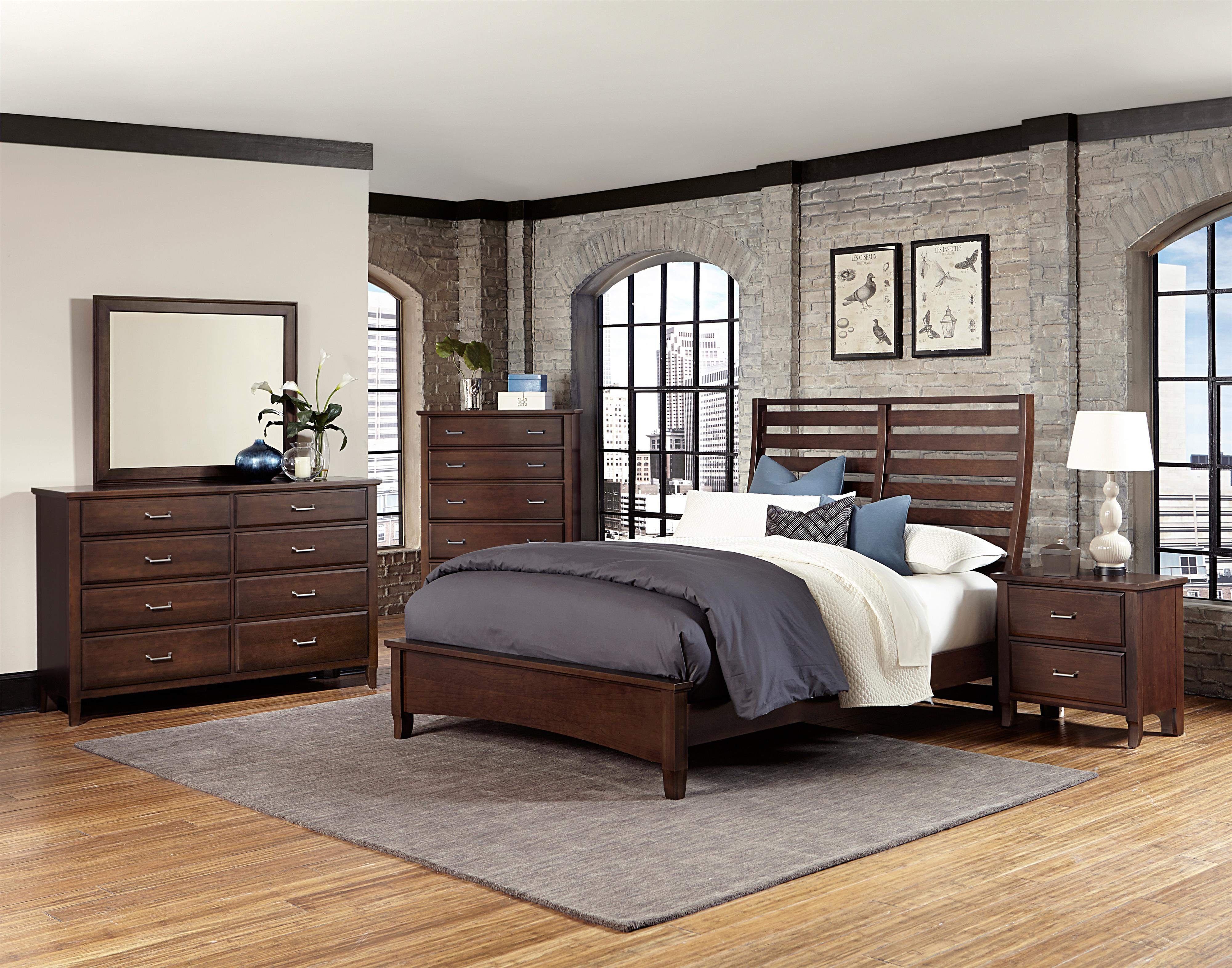 Vaughan Bassett Commentary King Bedroom Group - Item Number: 392 K Bedroom Group 10