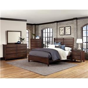 Vaughan Bassett Commentary Queen Bedroom Group