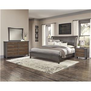 Vaughan Bassett Commentary King Bedroom Group