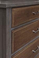 Storage Pieces/Storage Footboard Available with Oak Drawer Fronts
