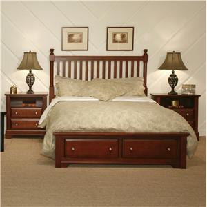 Vaughan Bassett Cottage Twin Bedroom Group