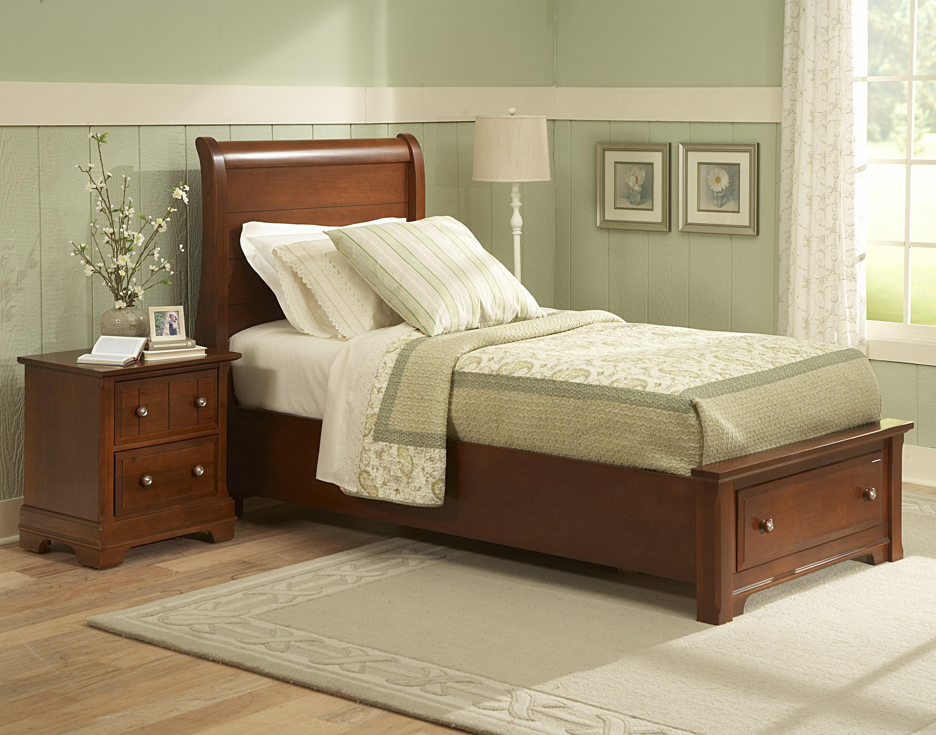 dresser collection bedroom furniture cottages bassett vaughan triple cottage snow white