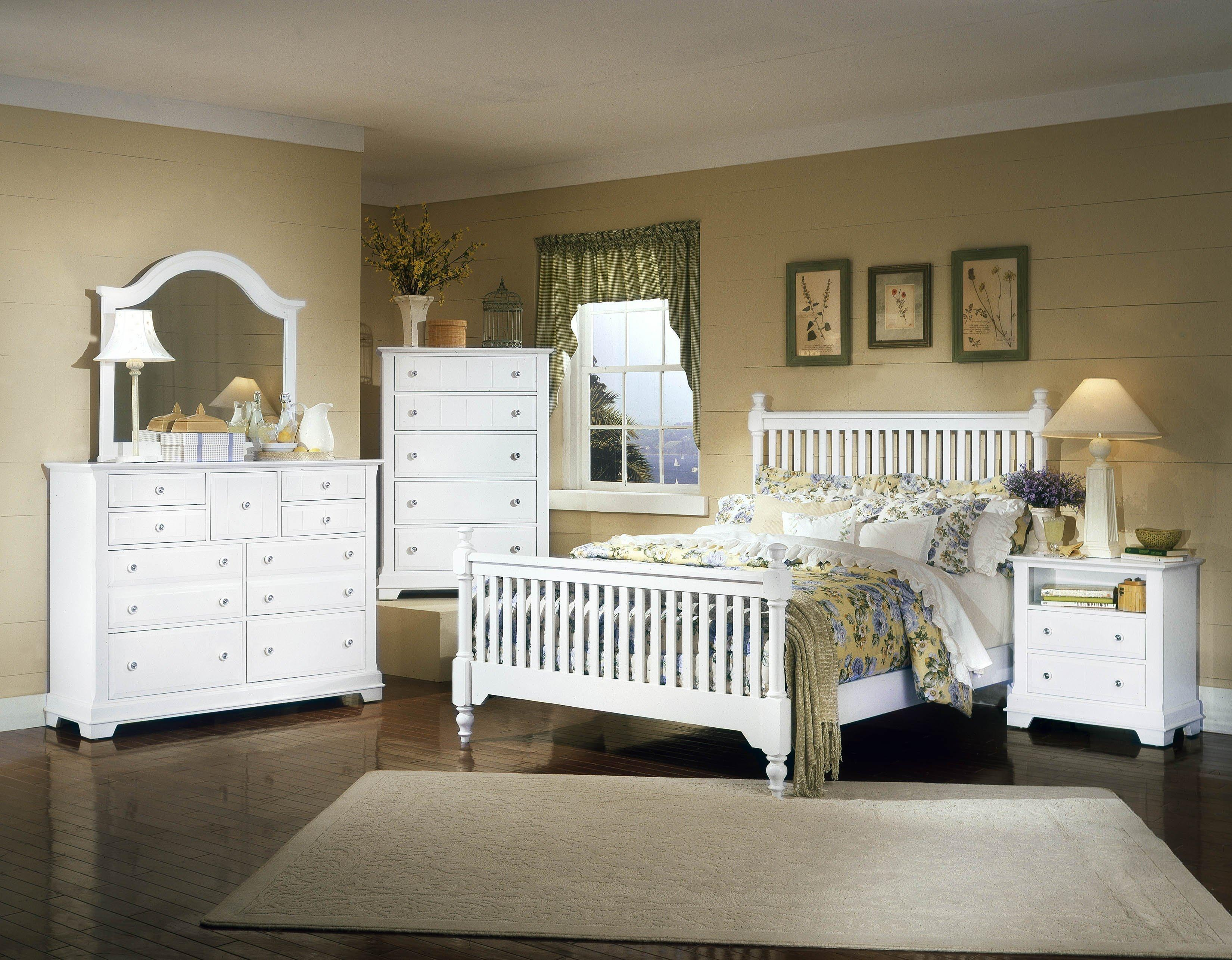 Vaughan Bassett Cottage Queen Bedroom Group - Item Number: BB24 Q Bedroom Group 3