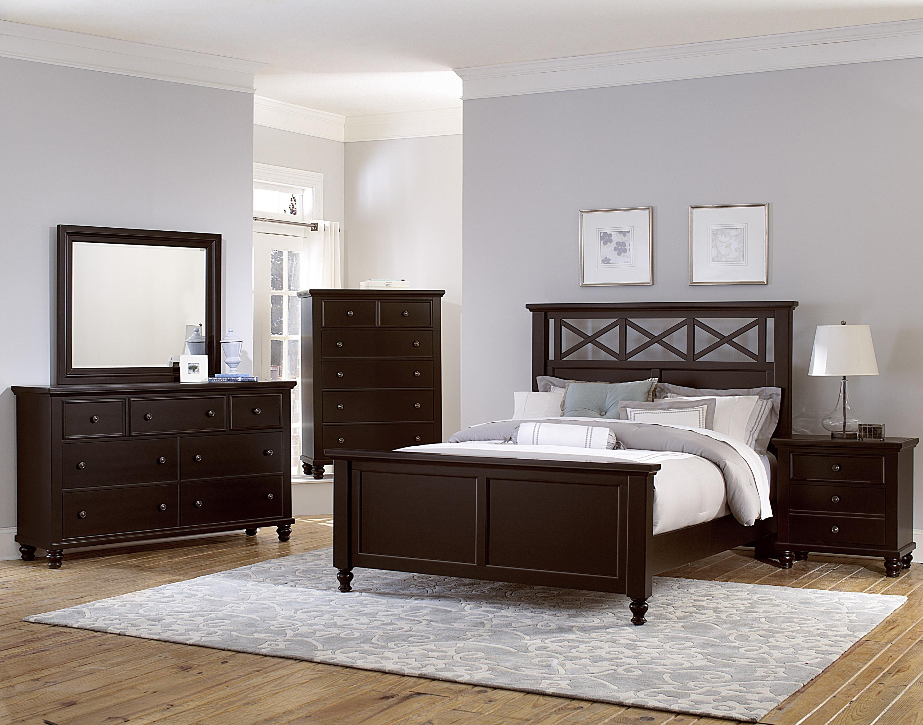 Vaughan Bassett Ellington Queen Bedroom Group - Item Number: 620 Q Bedroom Group 8