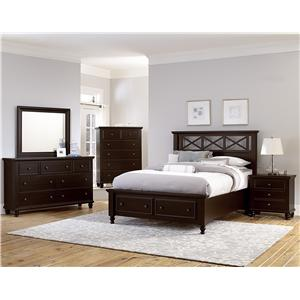 Vaughan Bassett Ellington King Bedroom Group