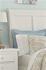 Sleigh Headboard with Recessed Panels