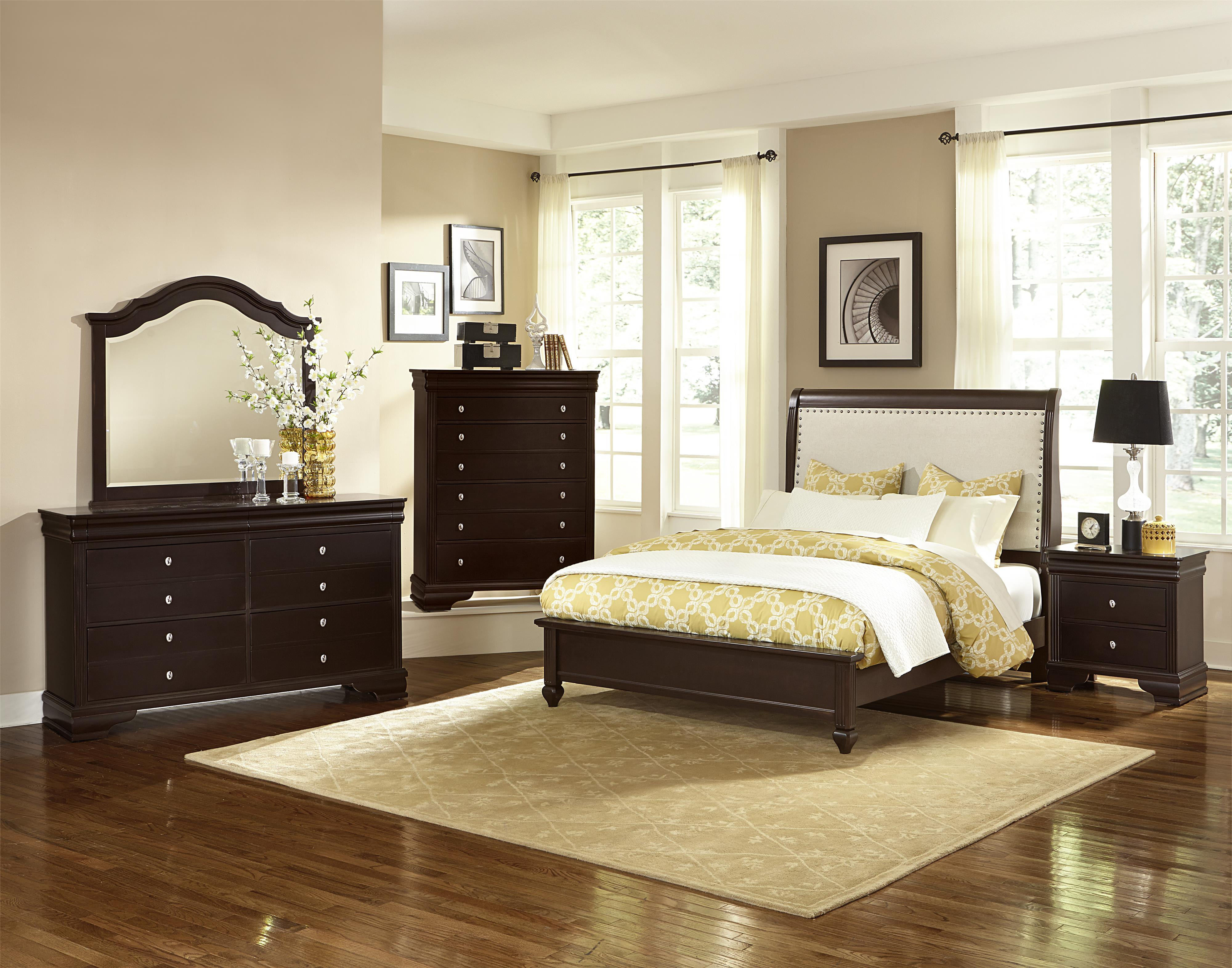 Vaughan Bassett French Market King Bedroom Group - Item Number: 380 K Bedroom Group 3