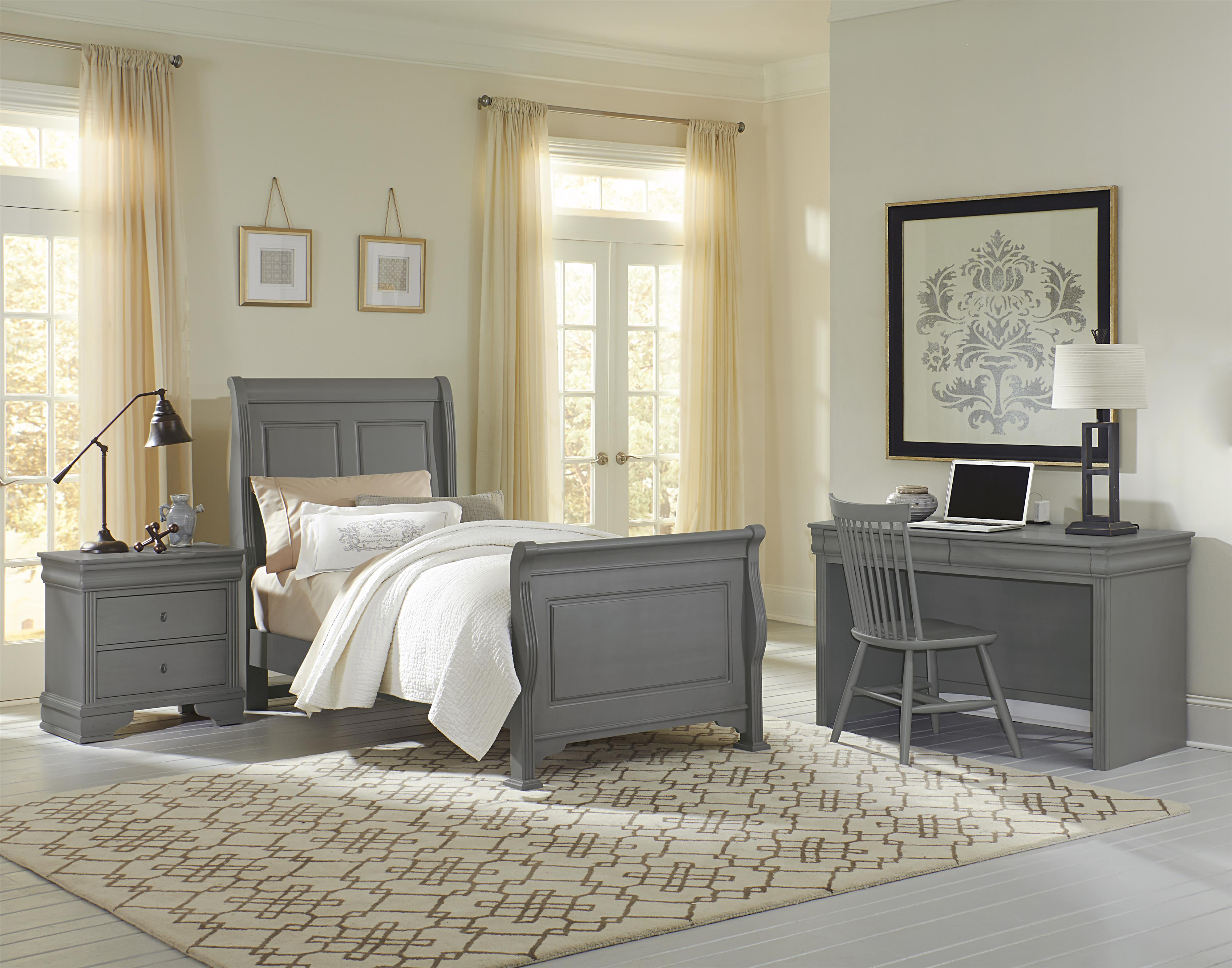 white bed dresser vaughn panel featuring night furniture vanity pin homedecor collection bassett vaughan bedroom stand children mirror storage and cottage chest