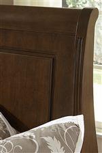 Louis Philippe Style Sleigh Headboard