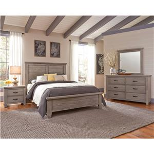 Vaughan Bassett Gramercy Park Chest with Four Self-Closing Drawers