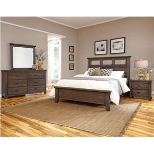 Vaughan Bassett Gramercy Park King Tile Bed