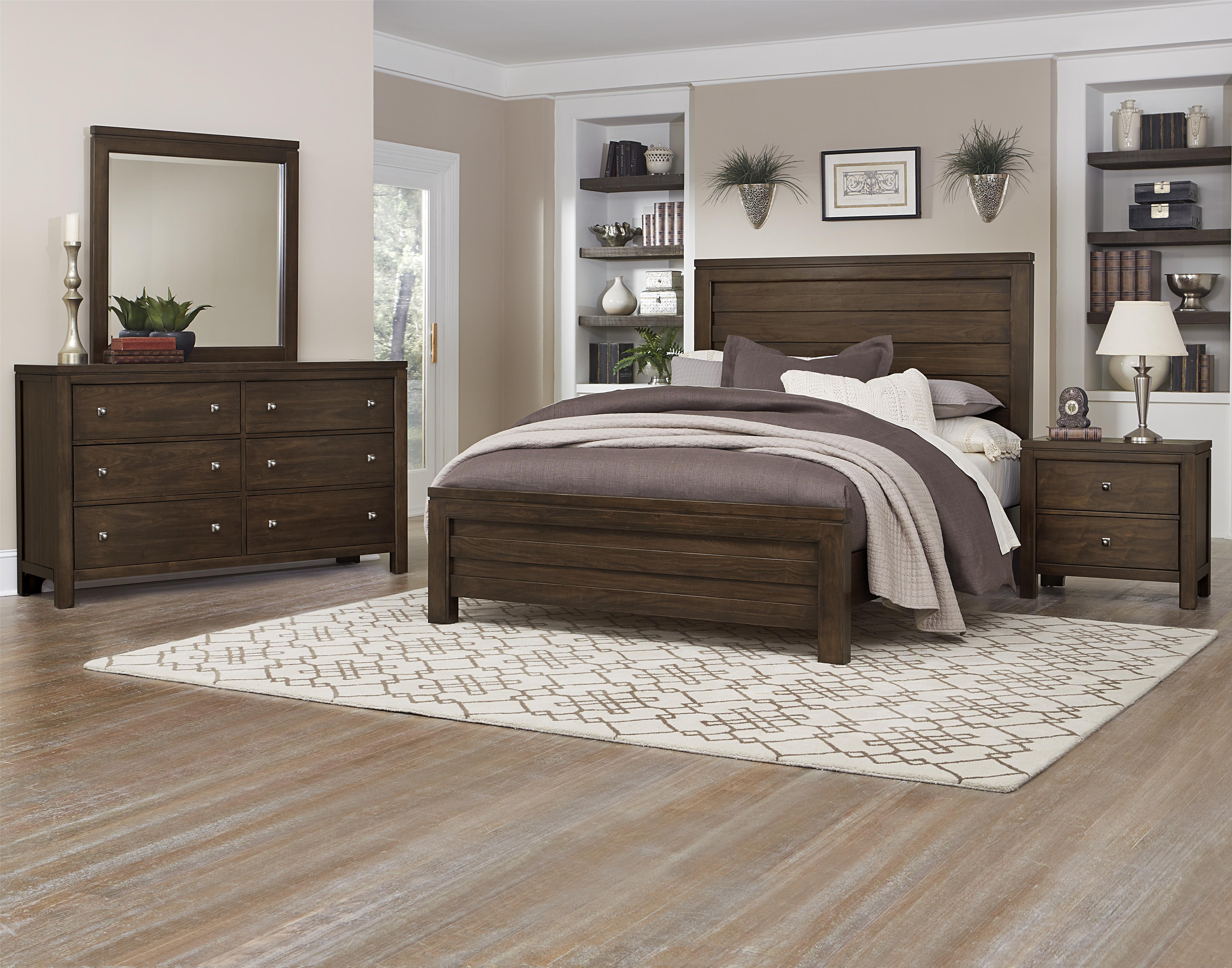 Vaughan Bassett Kismet Queen Bedroom Group - Item Number: 410 Q Bedroom Group 1