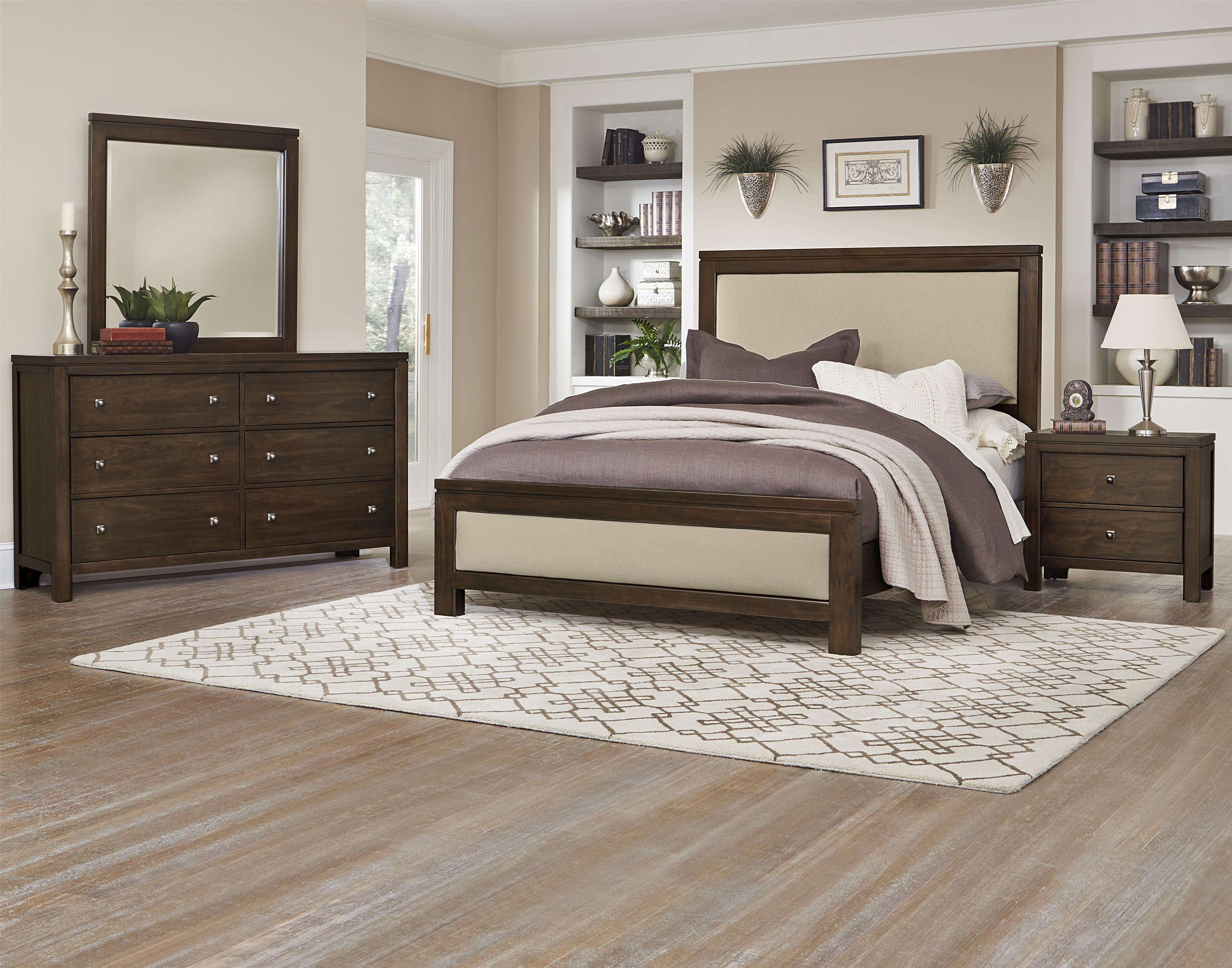Vaughan Bassett Kismet King Bedroom Group - Item Number: 410 K Bedroom Group 2
