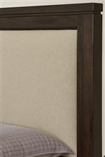 Upholstered Headboard with Base Cloth Linen