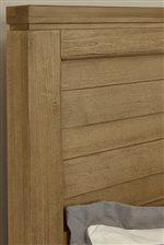 Wide Plank Panel Headboard