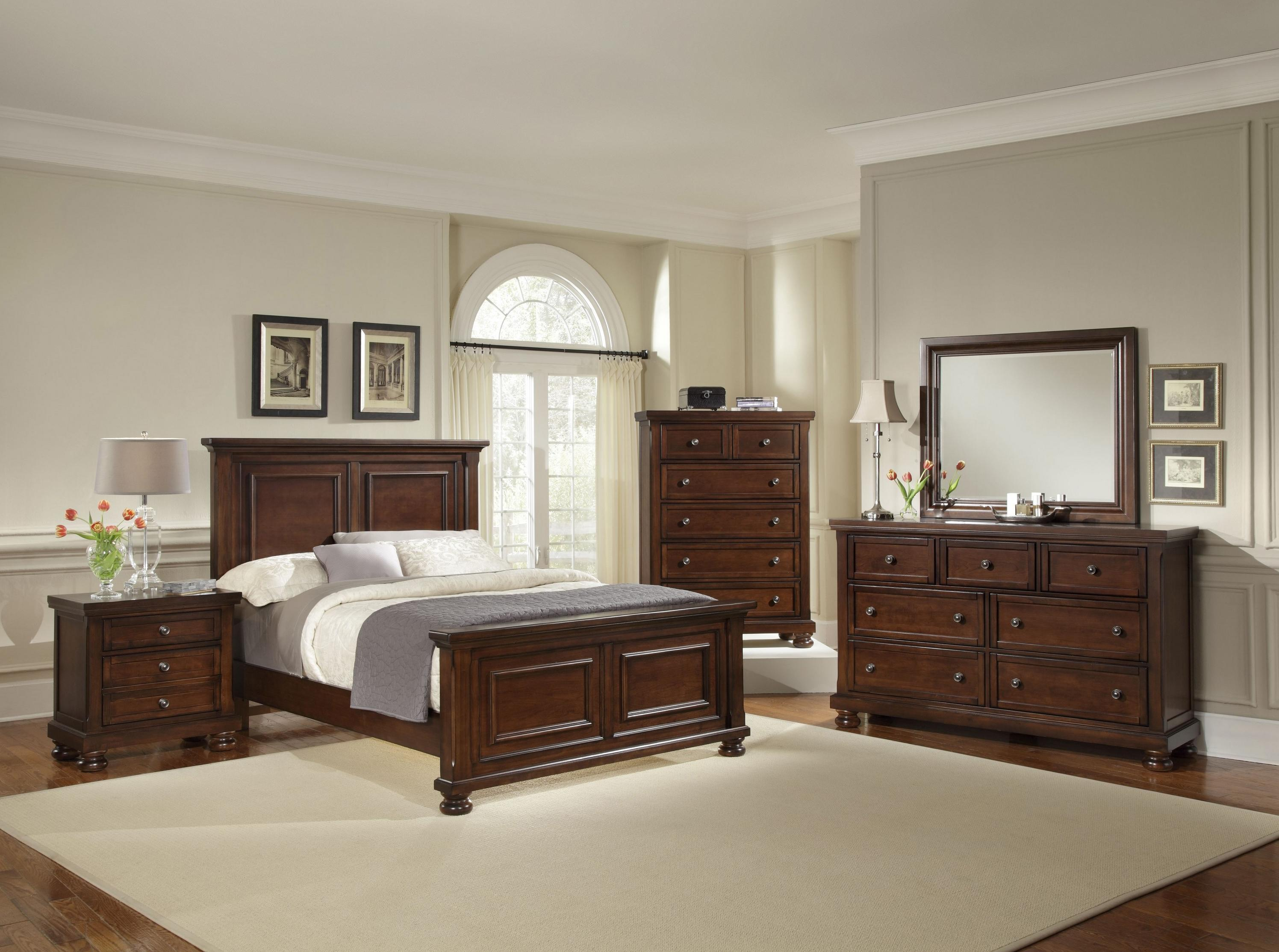 Vaughan Bassett Reflections King Bedroom Group - Item Number: 530 K Bedroom Group 2