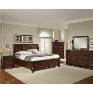 Vaughan Bassett Reflections King Bedroom Group