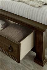 Storage Footboard Option Available