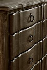Shaped Front on Storage Pieces