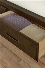Storage Footboard Drawer