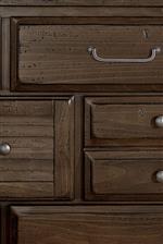 Varied Dresser Drawer Sizes