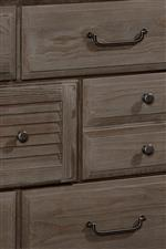 Varied Dresser Drawer Sizes