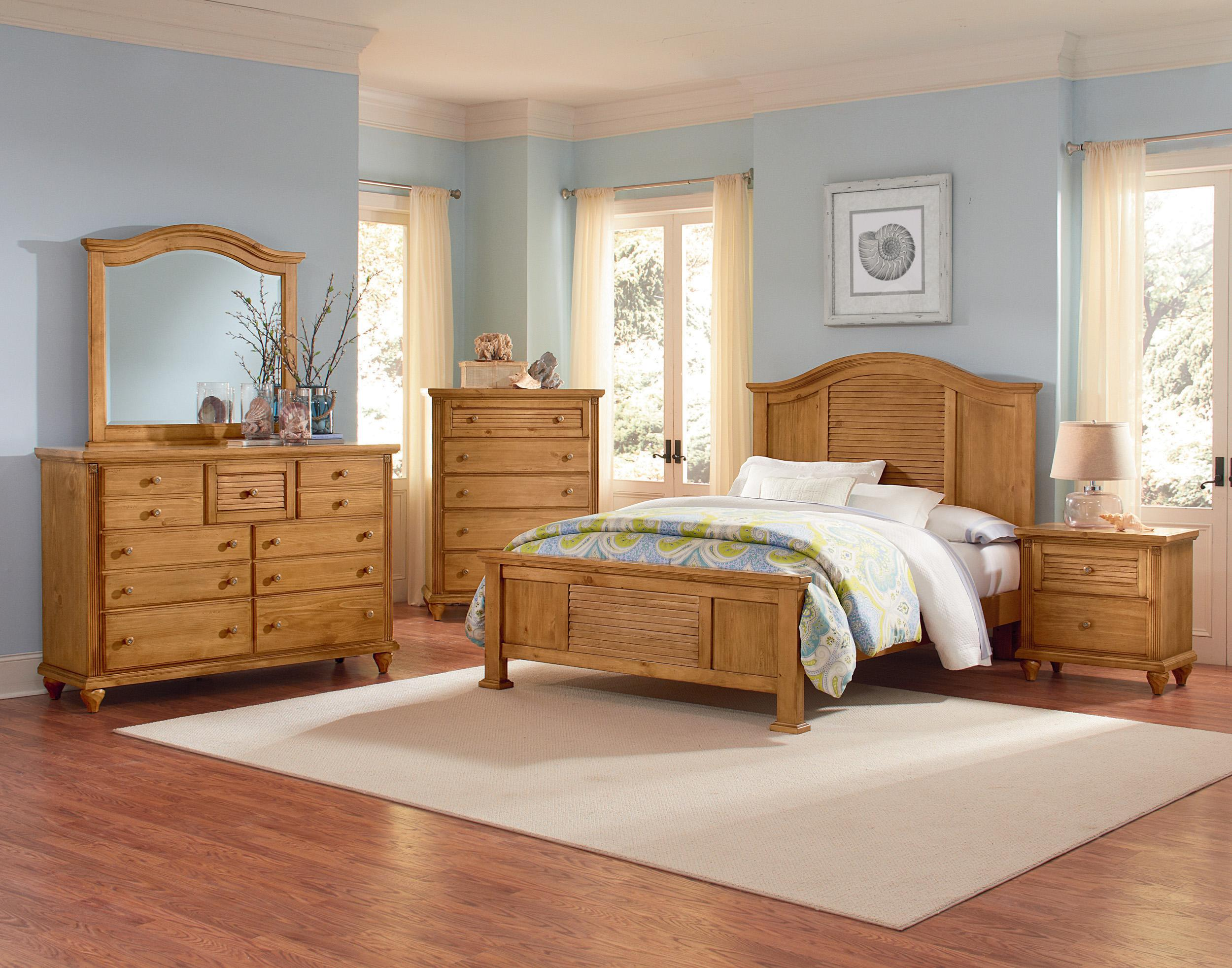 bassett bedroom furniture. Vaughan Bassett Shutters Cottage Night Stand  Felt lined top drawer Colder s Furniture and Appliance
