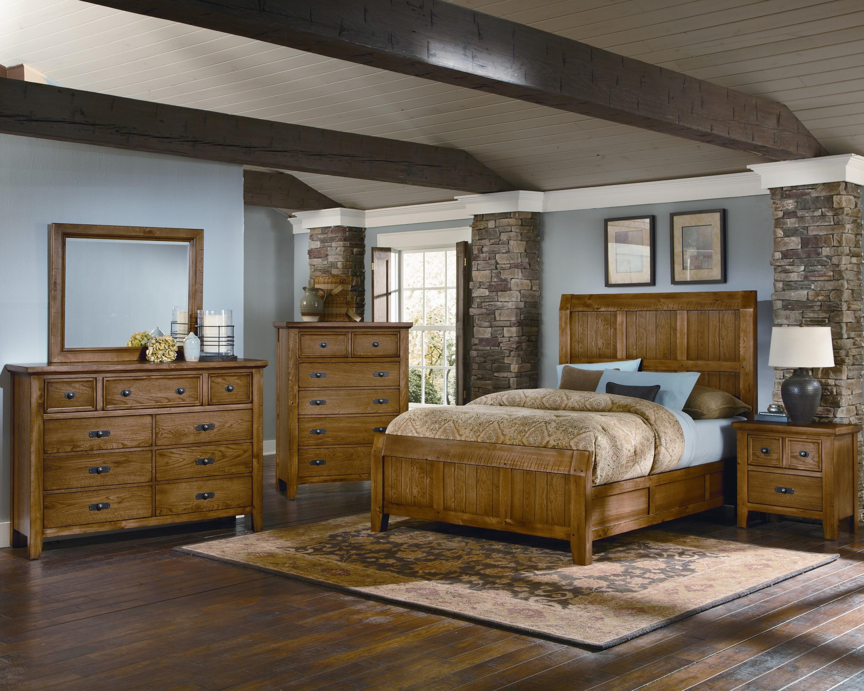 Vaughan Bassett Timber Mill King Bedroom Group - Item Number: BB54 K Bedroom Group 1