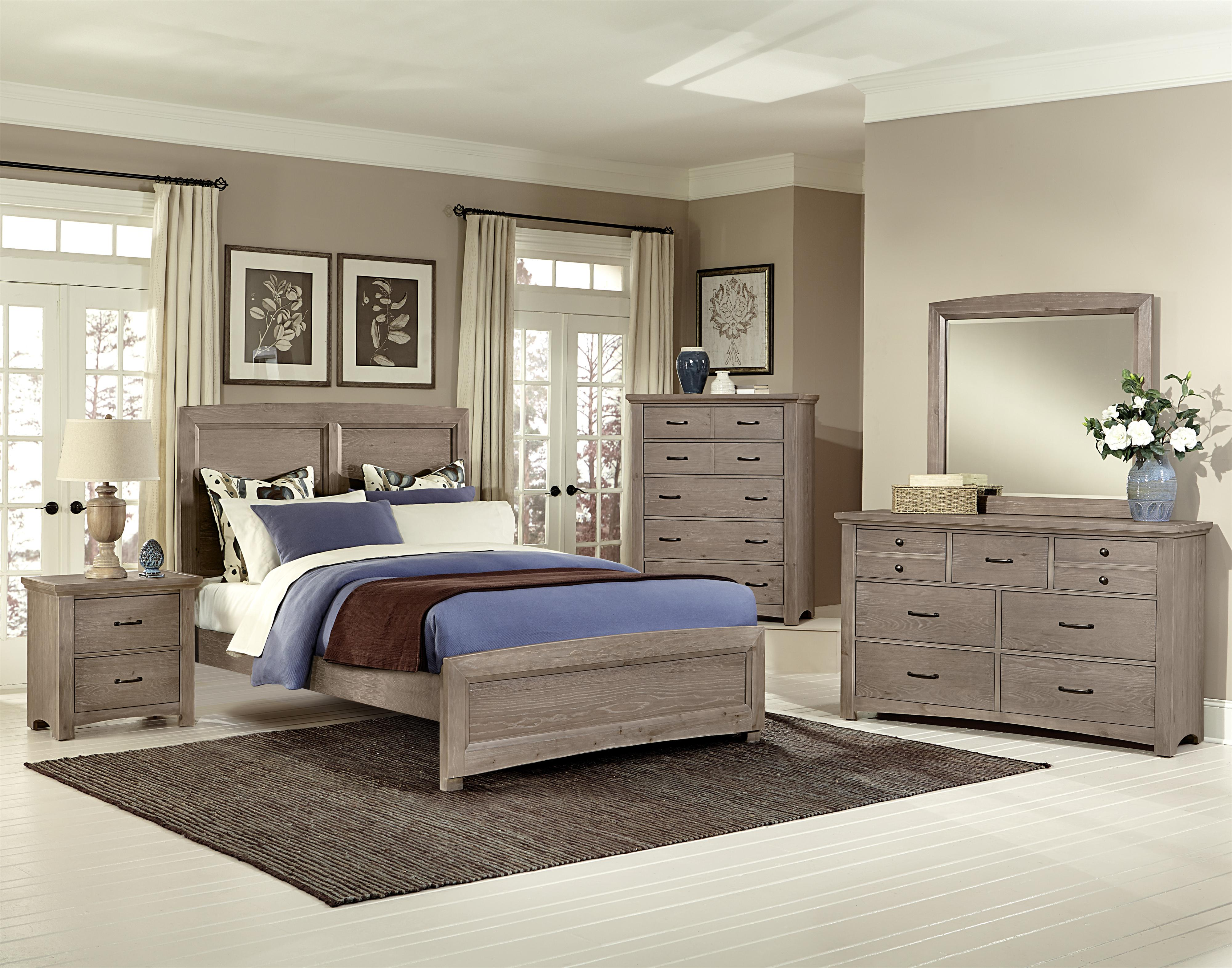 Vaughan Bassett Transitions Queen Bedroom Group - Item Number: BB61 Q Bedroom Group 1