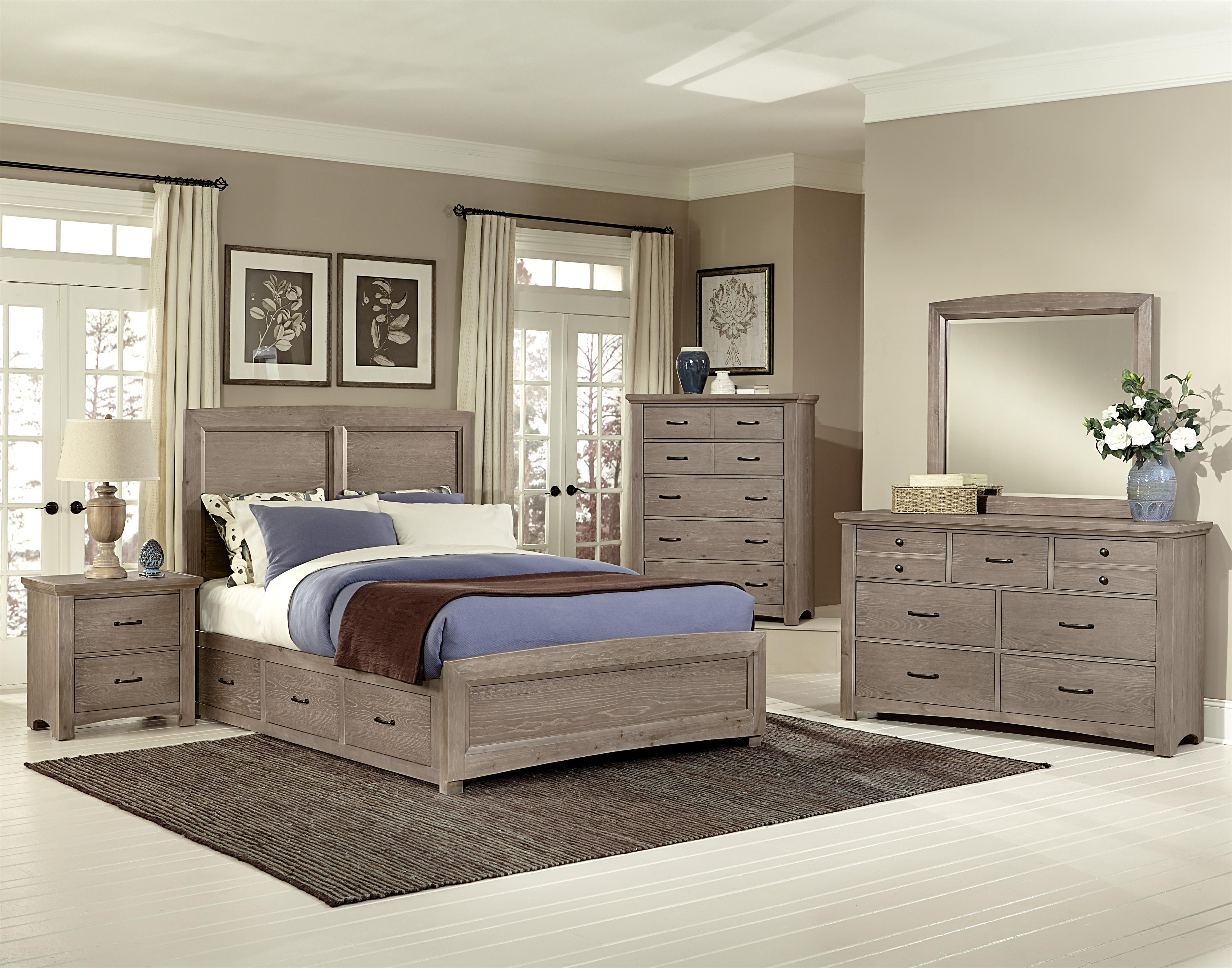 Vaughan Bassett Transitions Queen Bedroom Group - Item Number: BB61 Q Bedroom Group 3