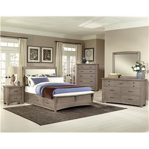 Vaughan Bassett Transitions Queen Bedroom Group