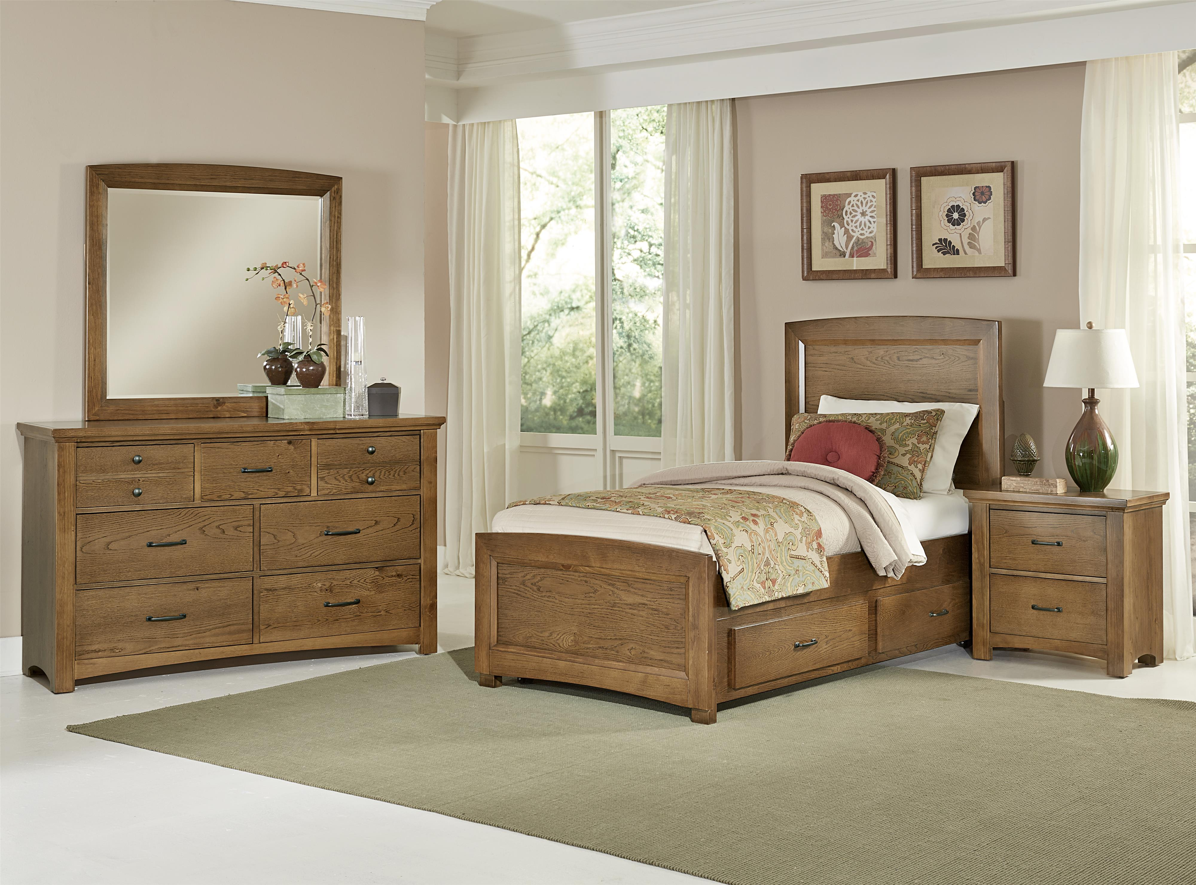 Vaughan Bassett Transitions Twin Bedroom Group - Item Number: BB63 T Bedroom Group 2