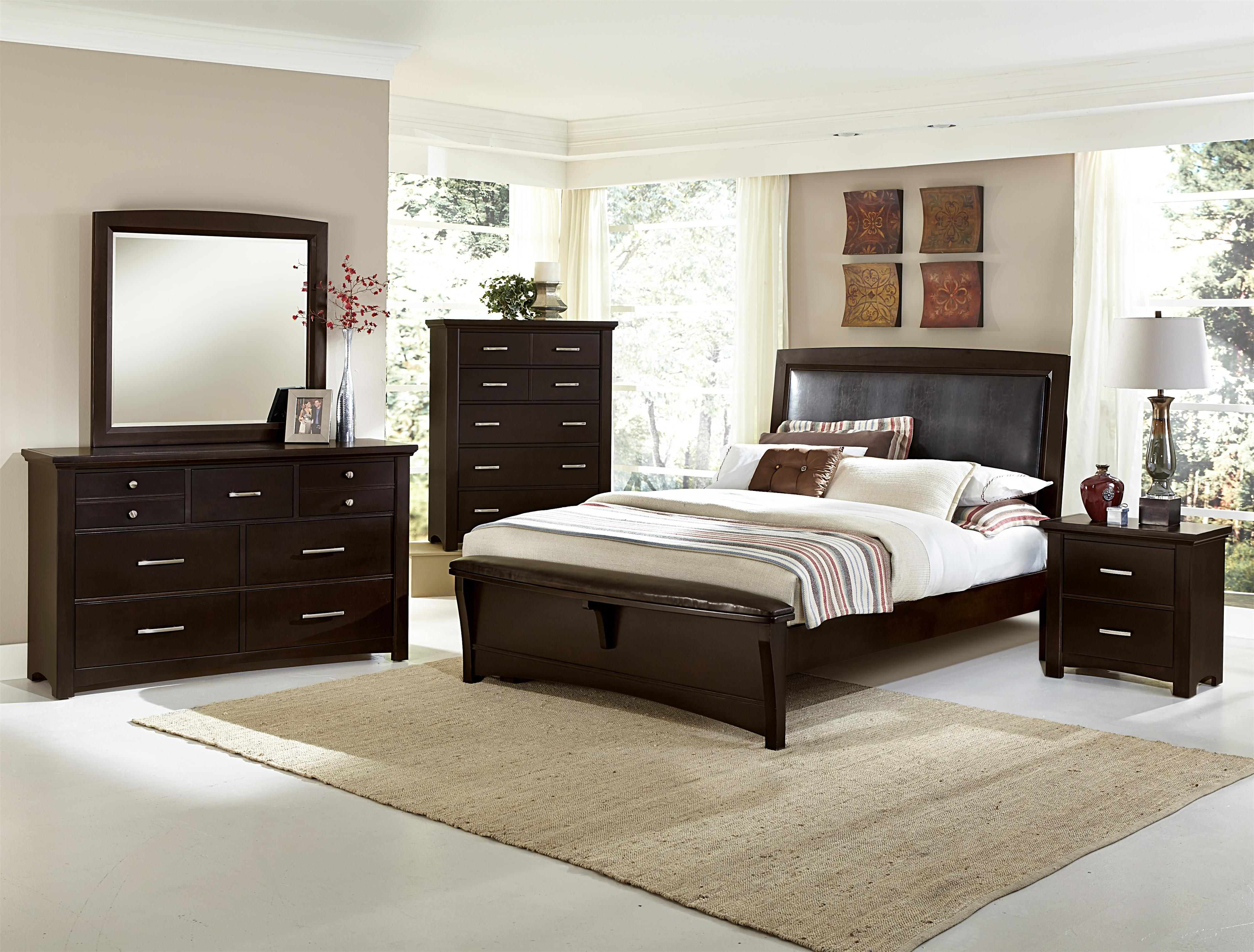 Wondrous Transitions Queen Bedroom Group By Vaughan Bassett At Value City Furniture Interior Design Ideas Tzicisoteloinfo