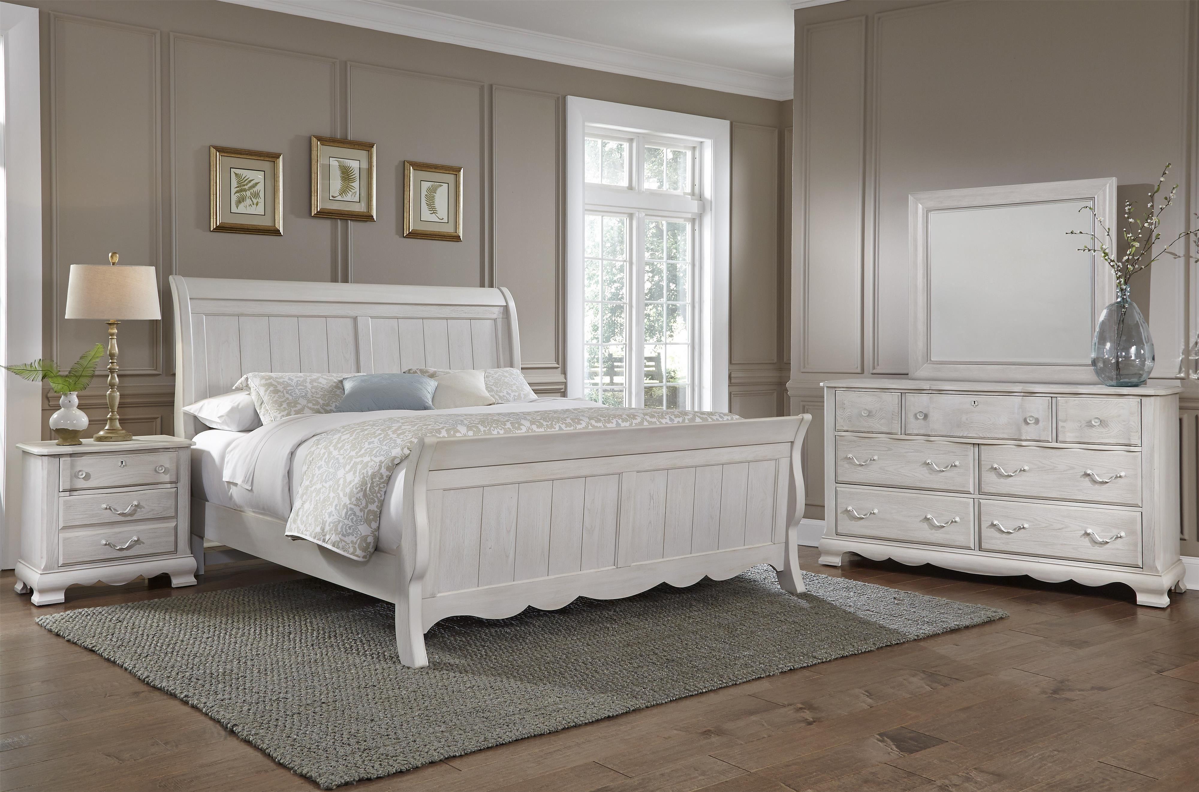 Made In Usa Bedroom Furniture Vaughan Bassett Villa Sophia 524 226 Night Stand Northeast