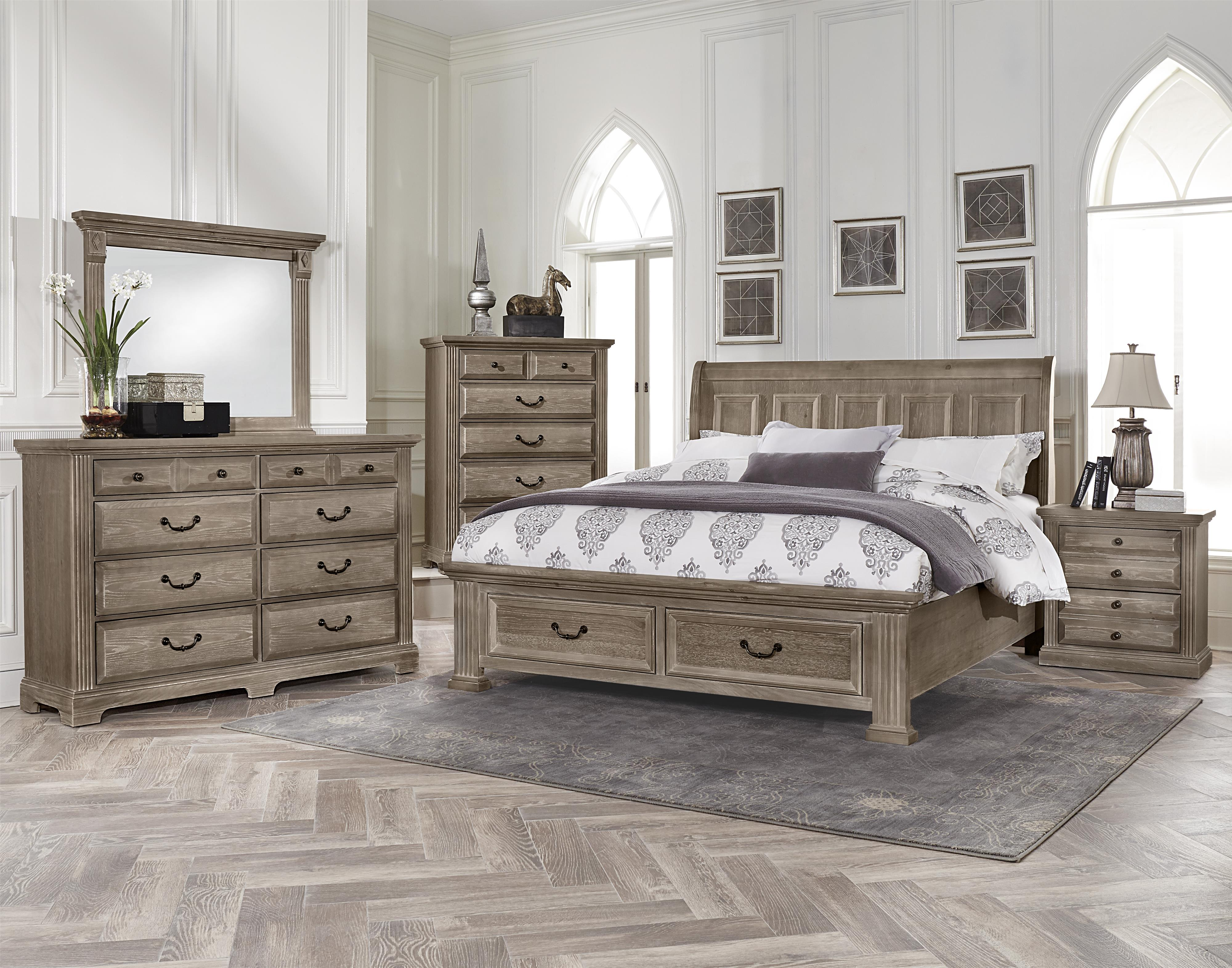 Vaughan Bassett Woodlands King Bedroom Group - Item Number: BB96 K Bedroom Group 3