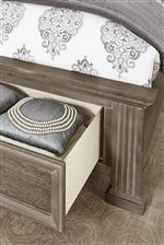 Storage Footboard Option