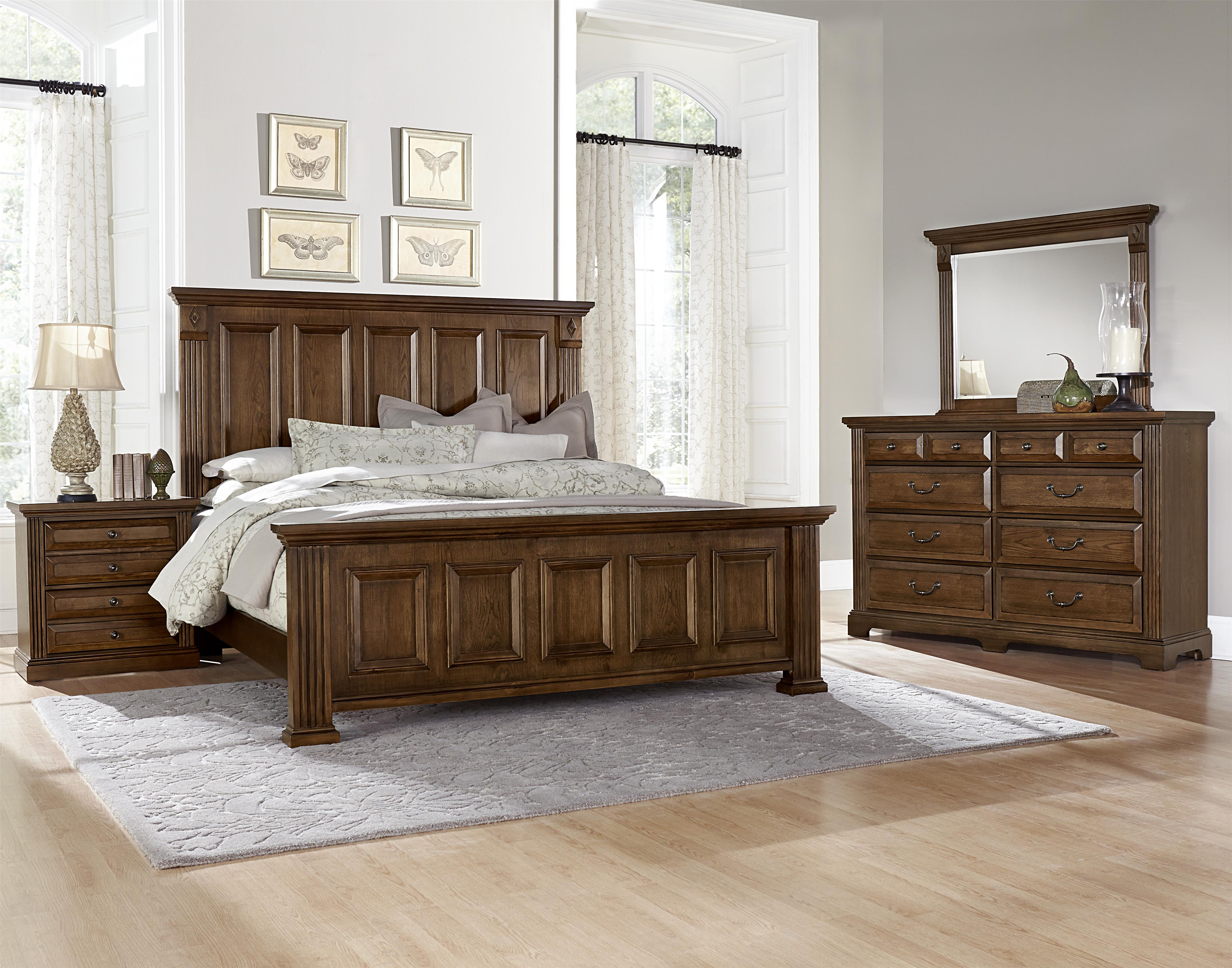 Vaughan Bassett Woodlands Queen Bedroom Group - Item Number: BB97 Q Bedroom Group 1