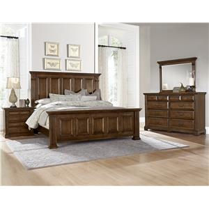 Vaughan Bassett Woodlands Queen Bedroom Group
