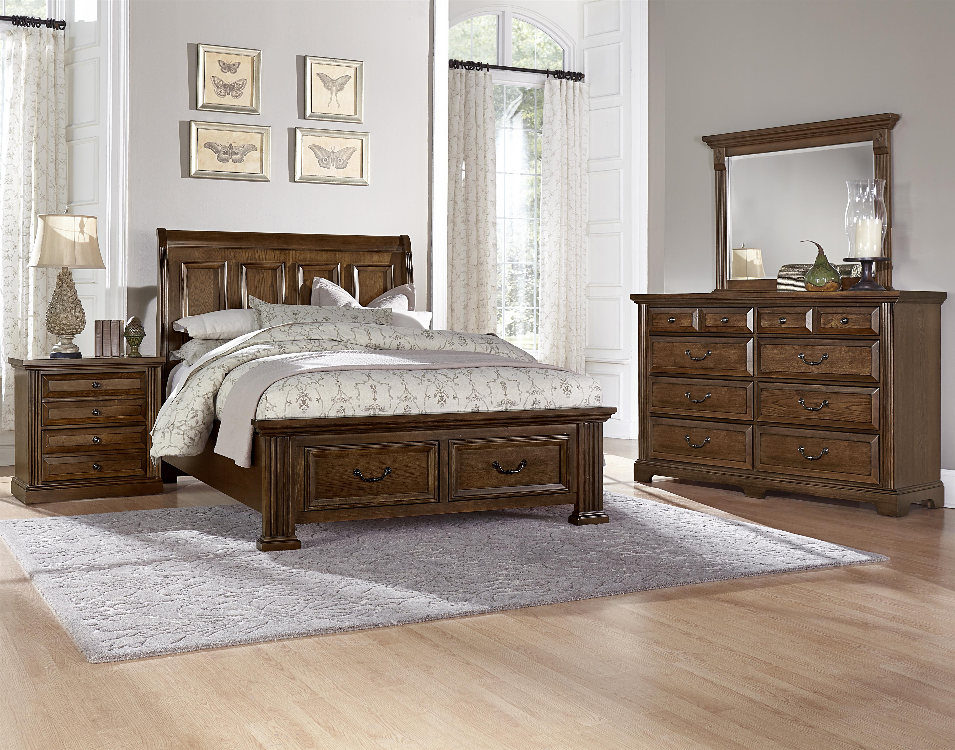 Vaughan Bassett Woodlands King Bedroom Group - Item Number: BB97 K Bedroom Group 3