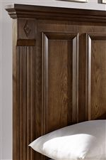 Mansion Headboard with Framed Panels