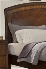 Arched Headboard with Molding