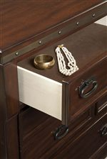 Felt-Lined Top Drawers